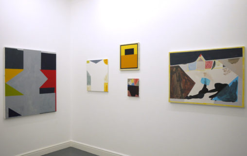 David Webb: Fragmentarium, installation view. Image courtesy of the dalla Rosa Gallery
