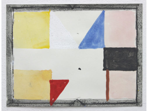 David Webb Parcheesi (VT) 2012 Acrylic, charcoal and pumice on paper 21x28cm