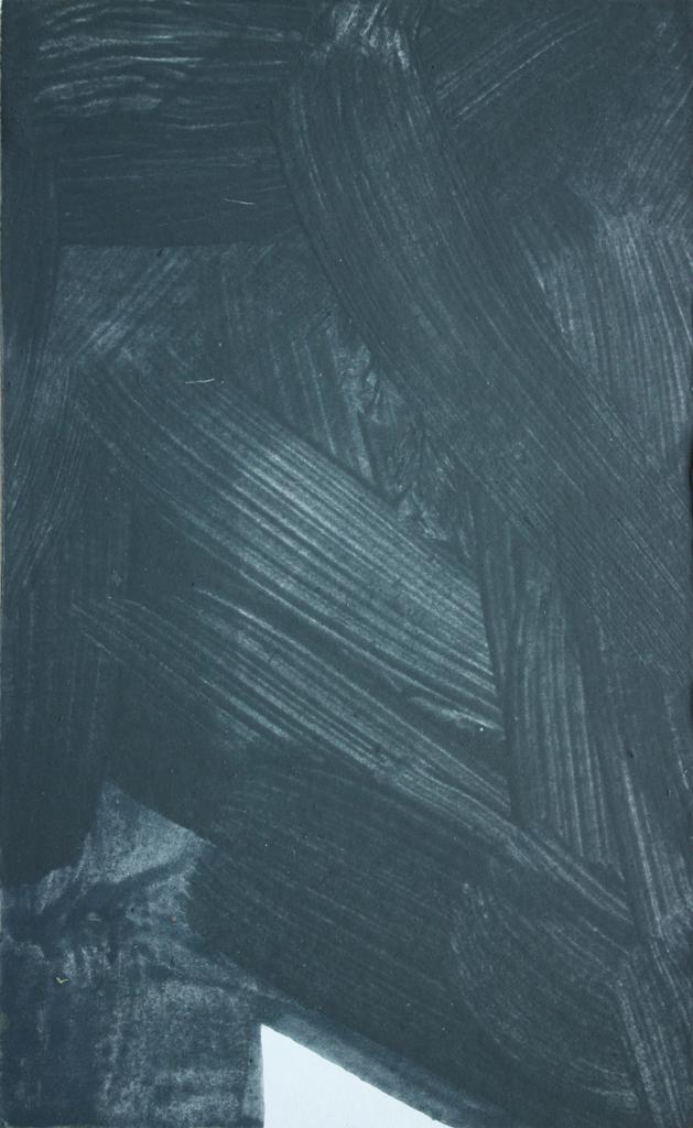 David Webb Pyramid (After Goya) 2013 Acrylic on card