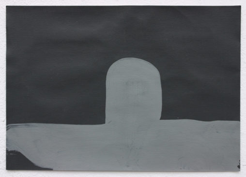 David Webb Sub (For SL) 2014 Acrylic on paper 14.5x21