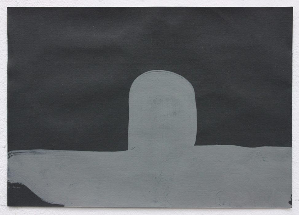 David Webb Sub (For SL) 2014 Acrylic on paper 14.5x21
