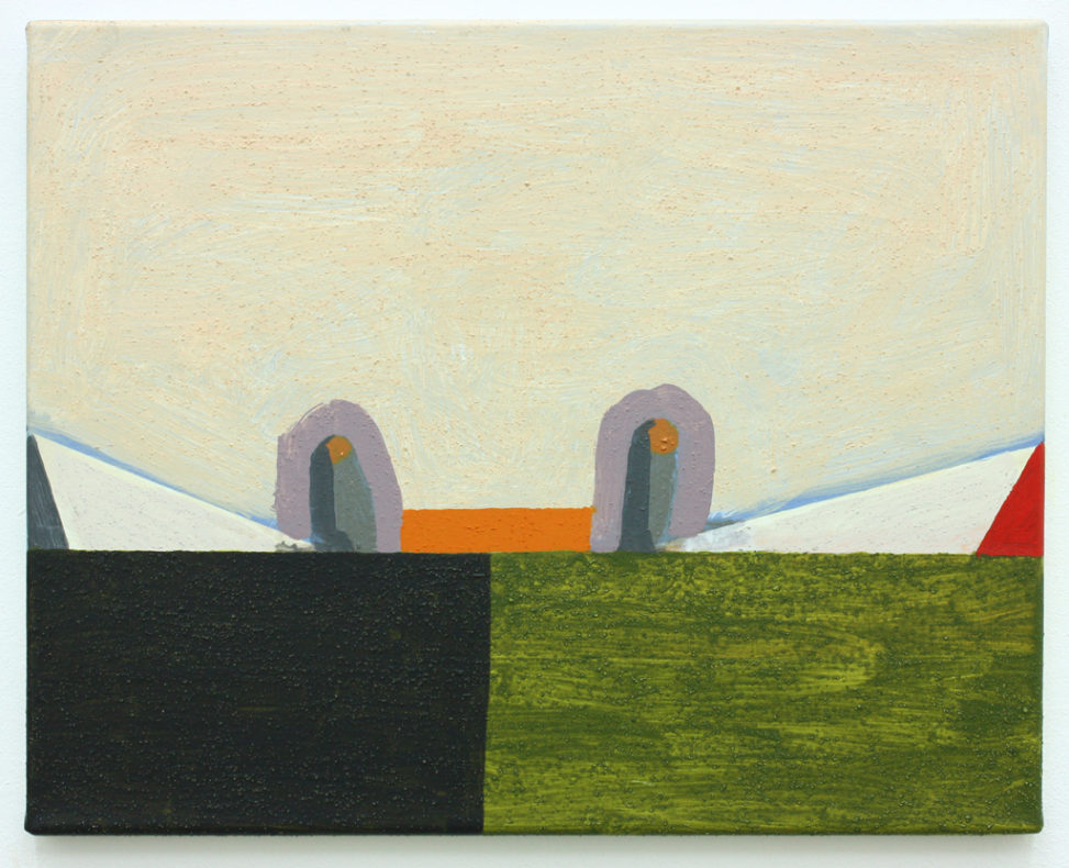 David Webb Suez (VT) 2012 Acrylic and pumice on canvas 40.5x50.5cm