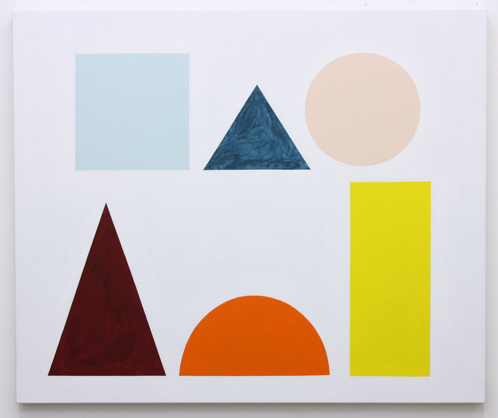David Webb The Back Of Us Is A Mountain 2015 Acrylic on canvas 100x120cm