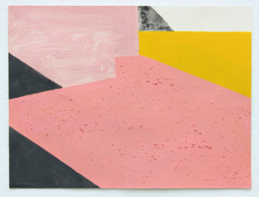 David Webb Untitled (Vermont) 2012 Acrylic and pumice on paper
