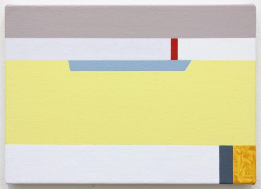 David Webb Limassol 2019 Acrylic on canvas 25 x 36 cm