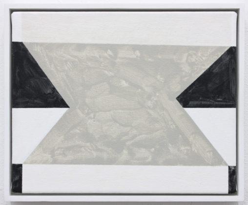 David Webb Untitled (BC) 2017 Acrylic on canvas 20.5 x 25.5 cm