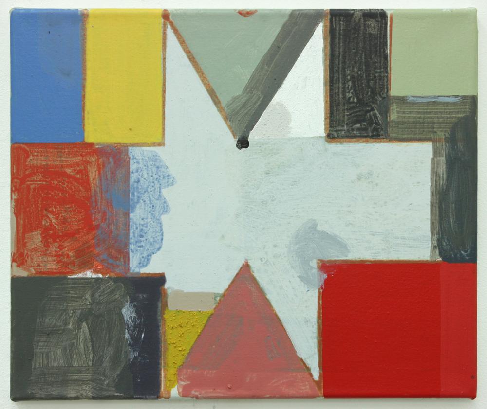 Parcheesi (VT) 2012 Acrylic on canvas 38x45.5cm