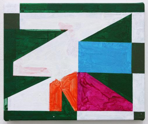 David Webb Mbeya 2016 Acrylic on canvas 26x31cm