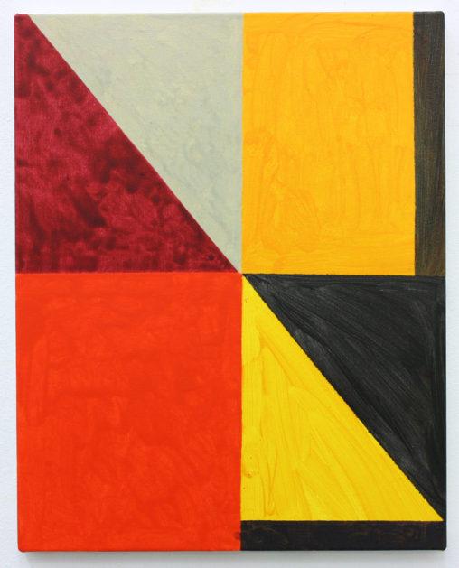 David Webb Untitled (Beak) Acrylic on canvas
