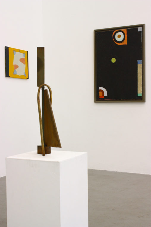 'South East', A.P.T. Gallery, London (2009). Left: Tortue (2009) (with Stephen Lewis and Geoff Rigden)