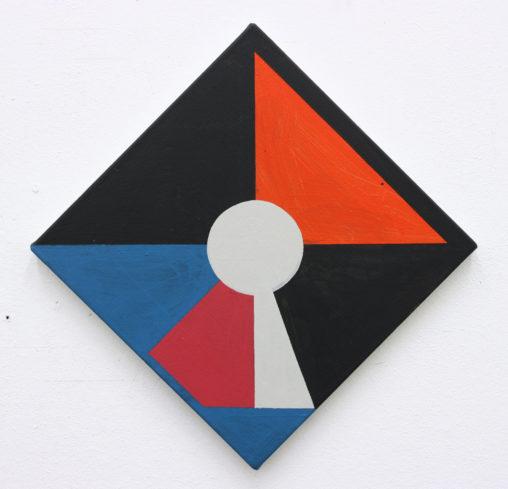 Galata, 2016, acrylic on canvas, 43x43cm