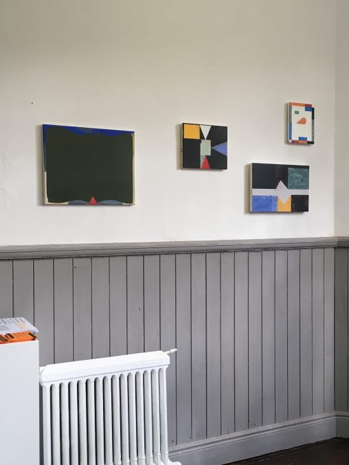 'The Back of Us Is a Mountain' installation shot
